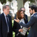 Francisco José, Luisa y Bruno en 'Sin identidad'