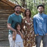La familia Cruz y Álex de 'Refugiados'