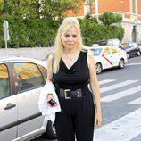 Emma Ozores en el funeral de Carmen Hornillos