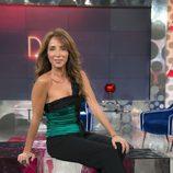 María Patiño, presentadora de 'Sálvame deluxe' durante el verano