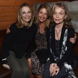 "Peggy Lipton, Sheryl Lee y Grace Zabriskie en la presentación de ""Twin peaks: The Entire Mystery"""