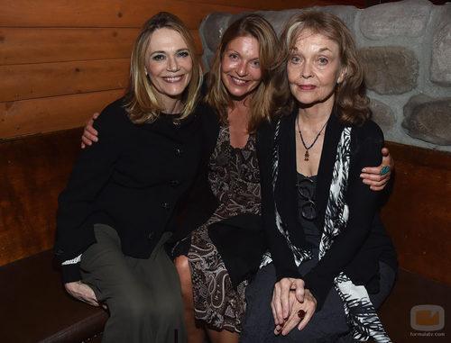 "Peggy Lipton, Sheryl Lee y Grace Zabriskie en la presentación de ""Twin peaks: The Entire Mystery"""