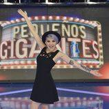 La cantante Angy debuta como jurado en 'Pequeños gigantes'