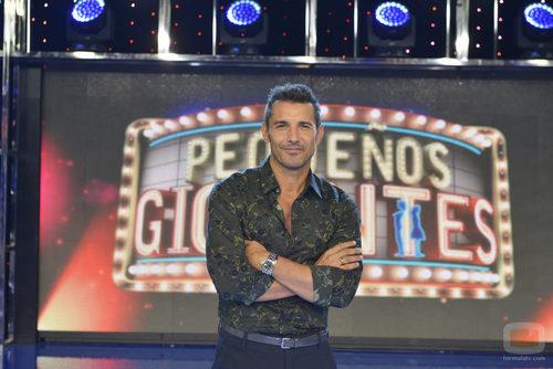 Jesús Vázquez presentará 'Pequeños gigantes' en Telecinco