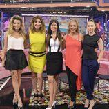 Las presentadoras de 'Hable con ellas en Telecinco' tras la incorporación de Rocío Carrasco