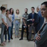 Blanca Romero en una de las escenas de 'Bajo sospecha'