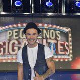 El actor Adrián Rodríguez será uno de los padrinos de 'Pequeños gigantes'
