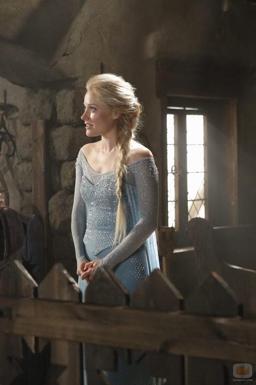 """Así es Elsa de """"Frozen"""" en 'Érase una vez'"""