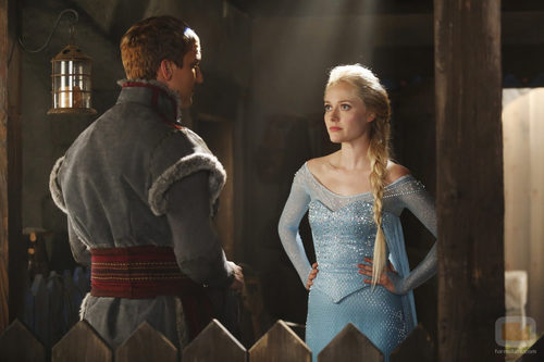 Georgina Haig y Scott Michael Foster en 'Once Upon A Time'