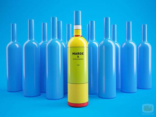 Envase no autorizado de Marge