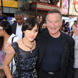 Robin Williams con su hija Zelda Williams