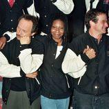 Billy Crystal, Whoopi Goldberg y Robin Williams