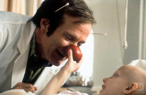"Robin Williams en ""Patch Adams"""