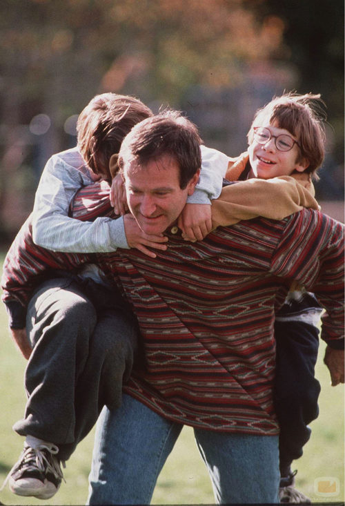 """Robin Williams en la película """"Jack"""""""