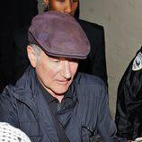 Robin Williams firmando autógrafos