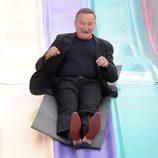 "Robin Williams en la prémiere de ""Happy Feet 2"""