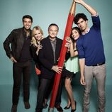 Principal elenco de 'The Crazy Ones'