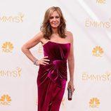 Allison Janney en la alfombra roja de los Emmy 2014