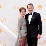 Bryan Cranston en la alfombra roja de los Emmy 2014