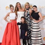 Las chicas de 'Modern Family' en los Emmy 2014
