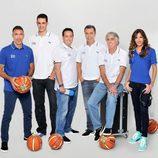 El equipo de comentaristas del Mundial de Baloncesto 2014