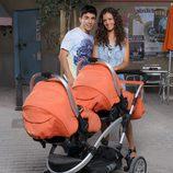 Los nuevos padres Jeco y María José en 'Vive cantando'