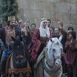 Los Reyes Católicos en una escena de 'Isabel'
