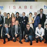 Equipo de 'Isabel' en el FesTVal