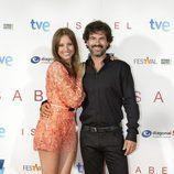 Los protagonistas de 'Isabel' en el FesTVal