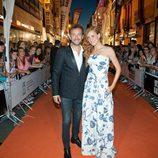 José Luis García Perez y Maria Castro en la alfombra naranja del FesTVal