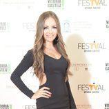 La joven actriz Ana Mena acude a la presentación de la segunda temporada de 'Vive cantando' en el FesTVal 2014