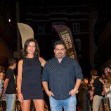 Jalis de la Serna y Alejandra Andrade en la presentación de 'Vive cantando' en el FesTVal 2014