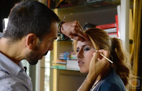 Chabelita Pantoja junto a Manuel Zamorano