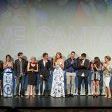 Presentación de la segunda temporada de 'Vive cantando' en el FesTVal 2014