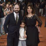Will Keen con su familia en el FesTVal 2014