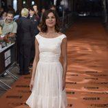 Natalia Tena en la alfombra naranja del FesTVal 2014