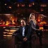 Iker Jiménez y Carmen Porter en la décima temporada de 'Cuarto milenio'
