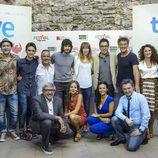 Equipo de 'Águila Roja' en el FesTVal 2014