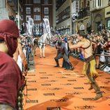 'Águila Roja' y un caballo en el FesTVal 2014
