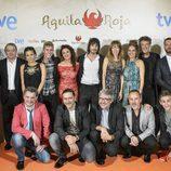 Preesteno de 'Águila Roja' en el FesTVal 2014 con el equipo