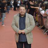 Alberto Chicote en la alfombra naranja del FesTVal 2014