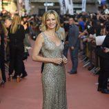 Susanna Griso en la alfombra naranja del FesTVal 2014