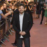 Jordi Évole en la alfombra naranja del FesTVal 2014