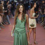 Lydia Bosch en la alfombra naranja del FesTVal 2014