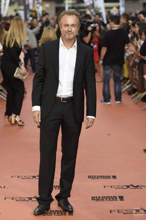 Tristán Ulloa en la gala del FesTVal 2014
