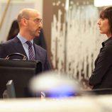 Javier Cámara y Nathalie Poza