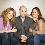 Jaydy Mitchel, Antonio Resines y Lydia Bosch