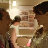 Vicente y Laura en el sexto capítulo de 'Chiringuito de Pepe'