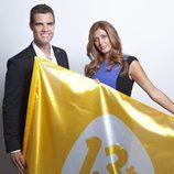 Patricia Betancort y David Alemán, presentadores de 'Detrás de la verdad' en 13TV
