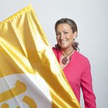 Isabel Durán estira la bandera de 13TV